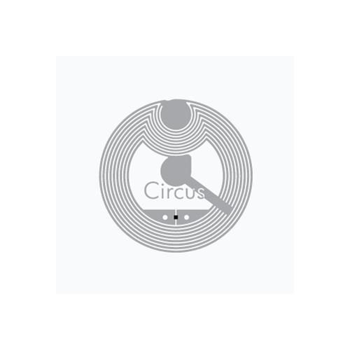 RFID HF inlay Circus™ Flex...