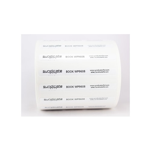 Asset UHF RFID label 96x8mm...