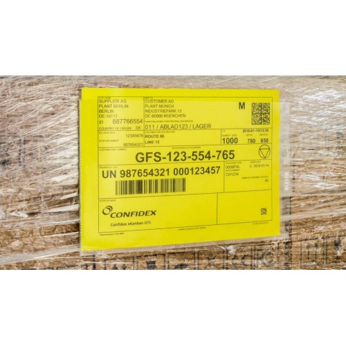 UHF RFID tarra eKanban GTL™...