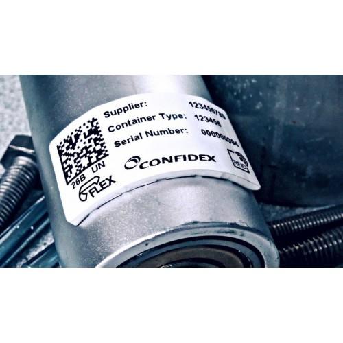 On-metal RFID label...