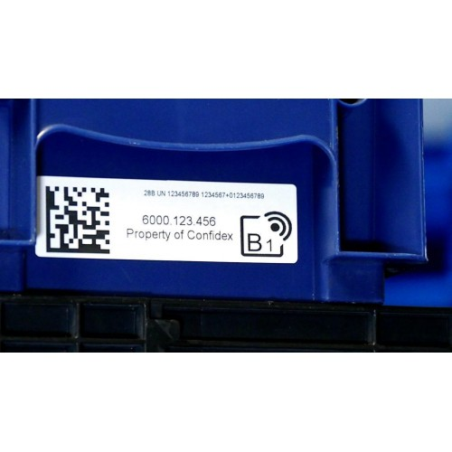Washable RFID label Carrier...