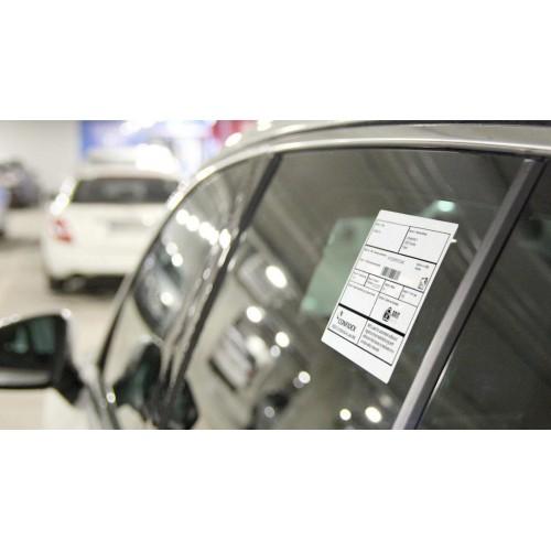 Window RFID label Car...