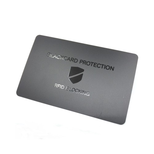 Anti-skim RFID blocking...