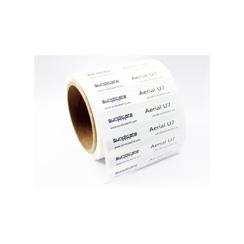 Non-metal UHF RFID label...