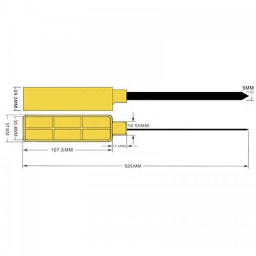 RFID stap / RFID cable tie...